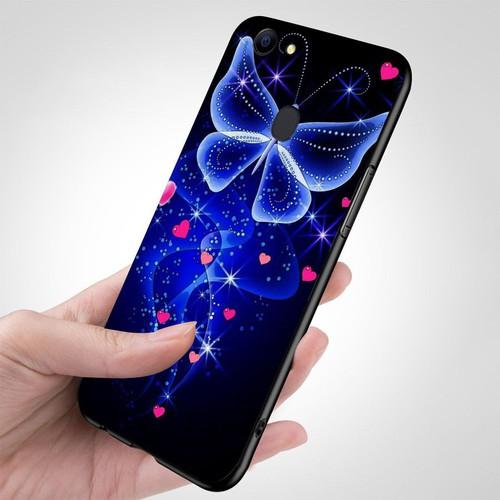 Ốp kính cường lực cho điện thoại oppo f5 - bướm đẹp ms buomd092