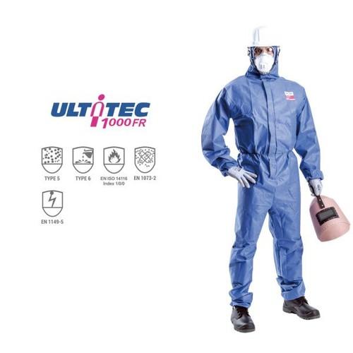 Quần áo chống hóa chất,hạt nhiễm phóng xạ, bụi khô, phun thuốc trừ sâu ultitec 1000fr