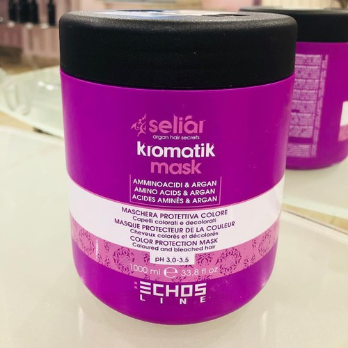 Mặt nạ ủ tóc trẻ hóa kromatik echosline mask 1000ml