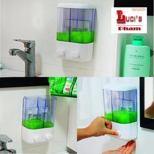Hộp đựng nước rửa tay treo tường 2 ngăn - 12187411 , 19914342 , 15_19914342 , 89000 , Hop-dung-nuoc-rua-tay-treo-tuong-2-ngan-15_19914342 , sendo.vn , Hộp đựng nước rửa tay treo tường 2 ngăn
