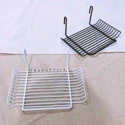 Rổ treo khung lưới kiểu ngang