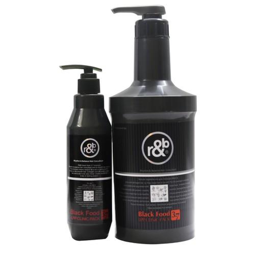 Hấp dầu tóc dinh dưỡng r b black food 3 7 210ml