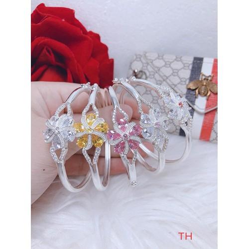Lắc tay bạc, vòng tay bạc hình hoa - 12203543 , 19937528 , 15_19937528 , 450000 , Lac-tay-bac-vong-tay-bac-hinh-hoa-15_19937528 , sendo.vn , Lắc tay bạc, vòng tay bạc hình hoa