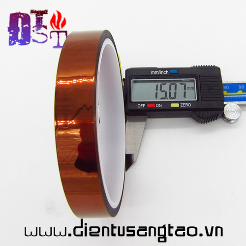 Băng keo cách nhiệt 15mm