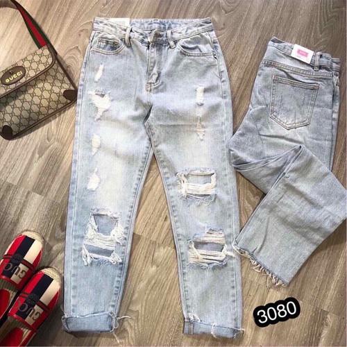 Quần jeans nữ thời trang cá tính