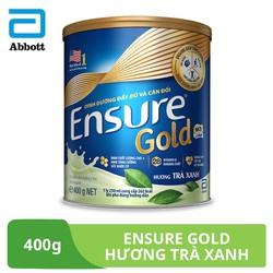 Sữa bột Ensure Gold hương trà xanh 400g