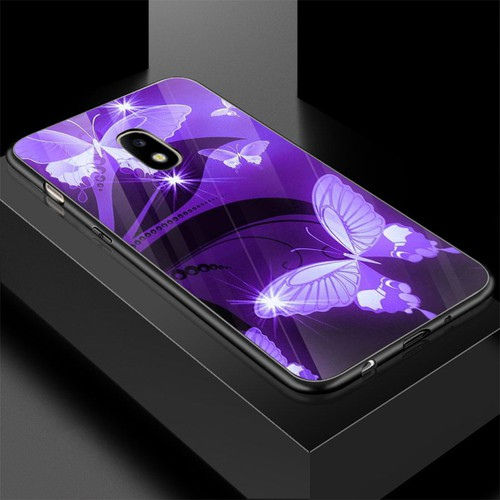 Ốp kính cường lực cho điện thoại samsung galaxy j710 -  j7 2016 - bướm đẹp ms buomd047