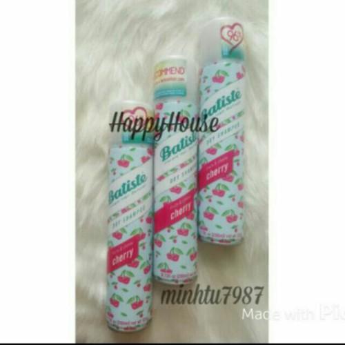 Dầu gội khô dry shampoo 200ml