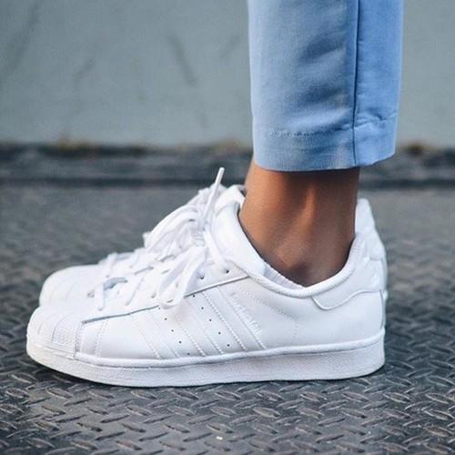 Giày superstar full white chính hãng xách tay - 12203531 , 19937513 , 15_19937513 , 2500000 , Giay-superstar-full-white-chinh-hang-xach-tay-15_19937513 , sendo.vn , Giày superstar full white chính hãng xách tay