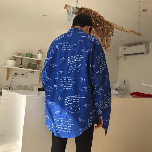 Áo sơ mi Áo khoác nam, dài tay, họa tiết chữ cái, phong cách Hàn Quốc, kiểu dáng rộng rãi, phù hợp cho mùa thu, cập nhật xu hướng thời trang hàng top - 11839772 , 19932341 , 15_19932341 , 619000 , Ao-so-mi-Ao-khoac-nam-dai-tay-hoa-tiet-chu-cai-phong-cach-Han-Quoc-kieu-dang-rong-rai-phu-hop-cho-mua-thu-cap-nhat-xu-huong-thoi-trang-hang-top-15_19932341 , sendo.vn , Áo sơ mi Áo khoác nam, dài tay, họa
