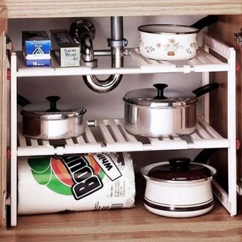 Giá để xoong nồi gầm bếp điều chỉnh được chiều dài kệ rất tiện lợi - 19531864 , 22388640 , 15_22388640 , 250000 , Gia-de-xoong-noi-gam-bep-dieu-chinh-duoc-chieu-dai-ke-rat-tien-loi-15_22388640 , sendo.vn , Giá để xoong nồi gầm bếp điều chỉnh được chiều dài kệ rất tiện lợi