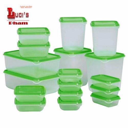 Bộ 17 hộp nhựa đựng thực phẩm cao cấp - 12187337 , 19914183 , 15_19914183 , 159000 , Bo-17-hop-nhua-dung-thuc-pham-cao-cap-15_19914183 , sendo.vn , Bộ 17 hộp nhựa đựng thực phẩm cao cấp