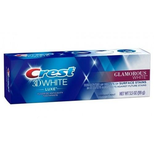 Kem đánh răng làm trắng crest 3d white luxe glamorous white