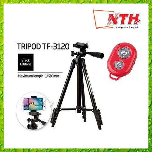 [Tặng remote chụp hình] gậy tripod 3120