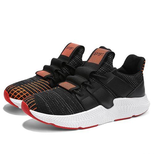 Giày nam thể thao sneaker cao cấp đế cao su non êm ái vải dệt siêu bền