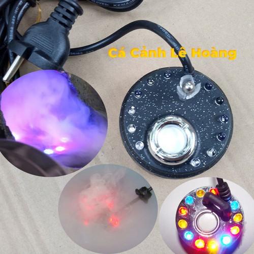 Máy tạo khói, phun sương mini cho bể cá, hòn non bộ, thác nước kèm 12 đèn led đổi màu xanh đỏ vàng tiết kiệm điện - 12192099 , 19920678 , 15_19920678 , 220000 , May-tao-khoi-phun-suong-mini-cho-be-ca-hon-non-bo-thac-nuoc-kem-12-den-led-doi-mau-xanh-do-vang-tiet-kiem-dien-15_19920678 , sendo.vn , Máy tạo khói, phun sương mini cho bể cá, hòn non bộ, thác nước kèm 12