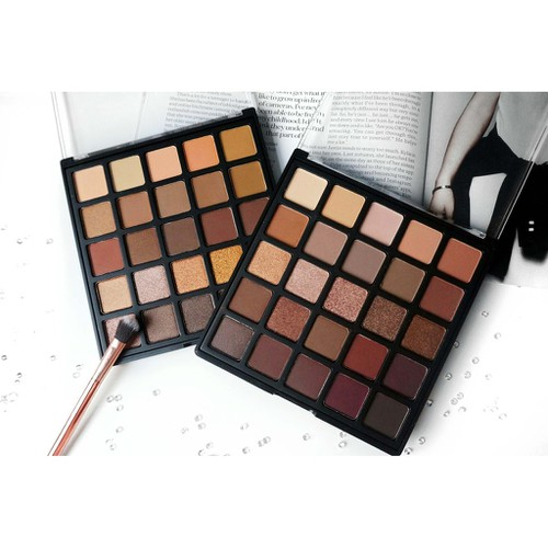 Bảng phấn mắt morphe 25b bronzed mocha eyeshadow palette limited