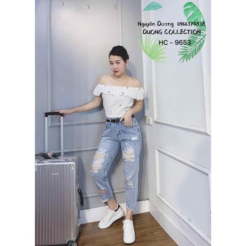 Quần baggy jeans nữ năng động - 12206926 , 19942118 , 15_19942118 , 165000 , Quan-baggy-jeans-nu-nang-dong-15_19942118 , sendo.vn , Quần baggy jeans nữ năng động