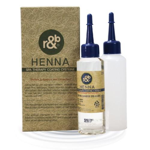 R b thuốc uốn tóc thảo dược henna cho tóc thường tóc hư tổn yếu