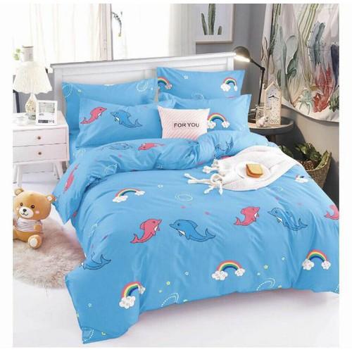Bộ ga giường 4 món không mền - mẫu 1m8 các loại