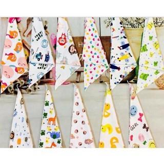 Bộ 5 khăn yếm tam giác cho bé yêu - Khăn yếm tam giác - KY5 thumbnail