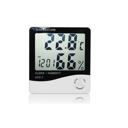 Đồng hồ để bàn đo độ ẩm nhiệt độ HTC-1
