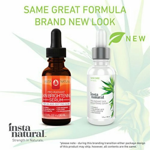 Serum instanatural skin brightening