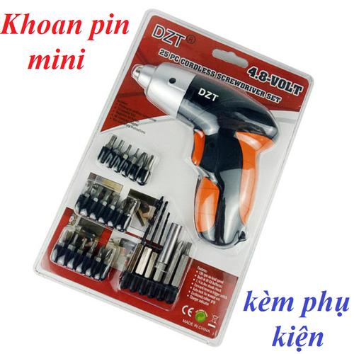 Máy khoan và vặn vít dùng pin mini dzt kèm phụ kiện - 12189111 , 19916815 , 15_19916815 , 220000 , May-khoan-va-van-vit-dung-pin-mini-dzt-kem-phu-kien-15_19916815 , sendo.vn , Máy khoan và vặn vít dùng pin mini dzt kèm phụ kiện