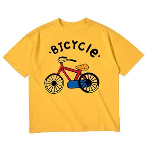 Áo thun bé trai - form rộng in hình bicycle - atbt10 pumbaa