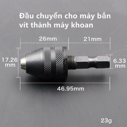 Đầu chuyển cho máy bắn vít - 12203737 , 19937766 , 15_19937766 , 129000 , Dau-chuyen-cho-may-ban-vit-15_19937766 , sendo.vn , Đầu chuyển cho máy bắn vít