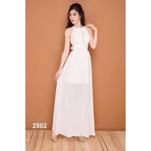 Đầm dạ hội hở lưng gợi cảm