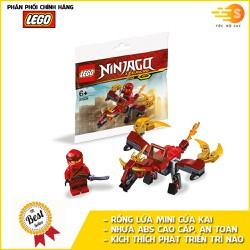 Bộ đồ chơi lắp ráp rồng lửa mini của Kai Lego NinjaGo 30535 - 30535