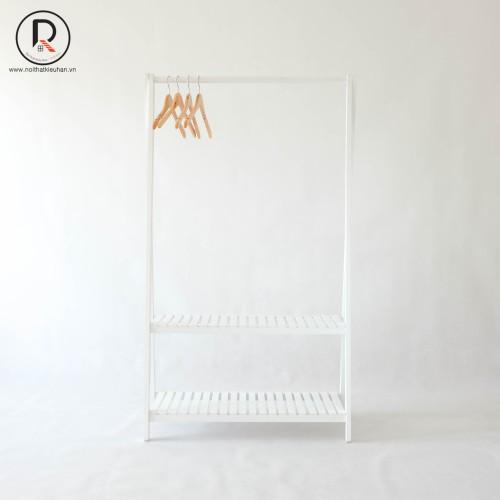 Giá treo quần áo chữ a màu trắng hàn quốc - a hanger 2fm white - nội thất kiểu hàn - 가장자리