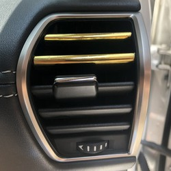 dây viền trang trí ô tô mạ crom chữ u màu vàng cho nội thất xe hơi