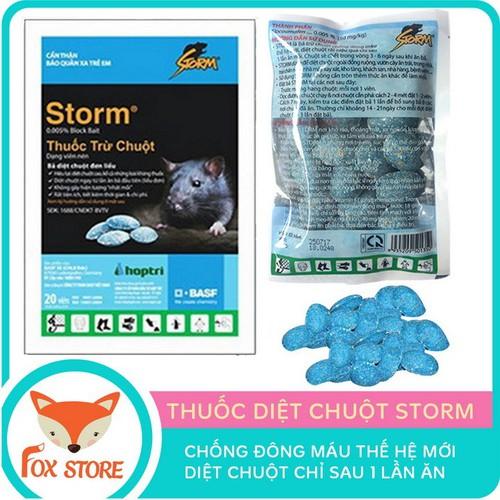 Thuốc diệt chuột storm - 1 gói gồm 20 viên - 12212086 , 19949212 , 15_19949212 , 17500 , Thuoc-diet-chuot-storm-1-goi-gom-20-vien-15_19949212 , sendo.vn , Thuốc diệt chuột storm - 1 gói gồm 20 viên
