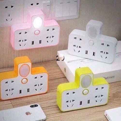 Ổ cắm điện đa năng có đèn ngủ