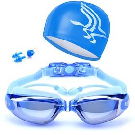 Combo Mũ kính bơi - Mũ kính bơi - mũ kính bơi