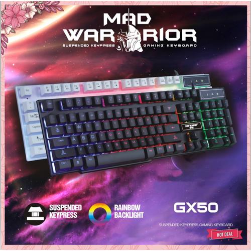 Bàn phím | bàn phím giả cơ chuyên game gx50 led siêu đẹp, bấm siêu êm