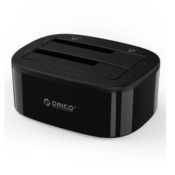 DOCK HDD ORICO 6228US3 USB 3.0 - Đế cắm ổ cứng đôi cho ổ cứng 2,5inch và 3,5inch