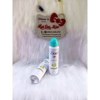 Xịt khử mùi Dove hương lê 150ml - v562 thumbnail