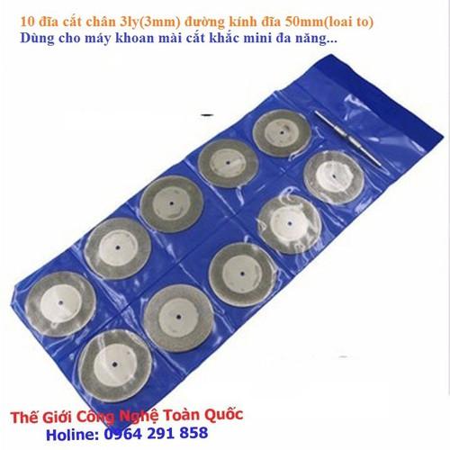 10 đĩa cắt phủ kim cương chân 3mm - 12218538 , 19960299 , 15_19960299 , 125000 , 10-dia-cat-phu-kim-cuong-chan-3mm-15_19960299 , sendo.vn , 10 đĩa cắt phủ kim cương chân 3mm