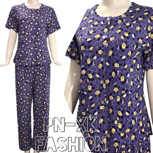 [Cho xem hàng]bộ thun cài nút quần dài trung niên từ 48-75kg-hàng công ty- vải đẹp