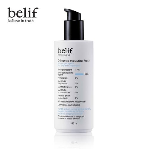 Sữa dưỡng cho da dầu belif oil control moisture fresh 125ml