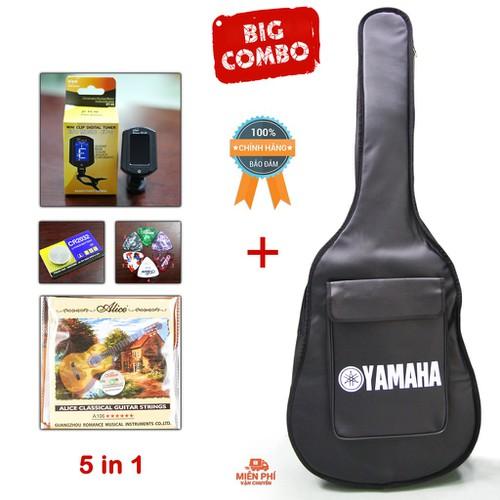Combo 5 phụ kiện đàn guitar : bao da 3 lớp yamaha + máy lên dây et-33 + dây đàn alice a106 + 1 pin cr2032 + 1 phím gãy – 5 in 1 - 12213208 , 19950829 , 15_19950829 , 290000 , Combo-5-phu-kien-dan-guitar-bao-da-3-lop-yamaha-may-len-day-et-33-day-dan-alice-a106-1-pin-cr2032-1-phim-gay-5-in-1-15_19950829 , sendo.vn , Combo 5 phụ kiện đàn guitar : bao da 3 lớp yamaha + máy lên dây