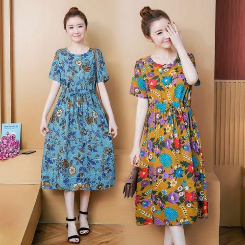 Đầm suông nữ dễ thương D6122