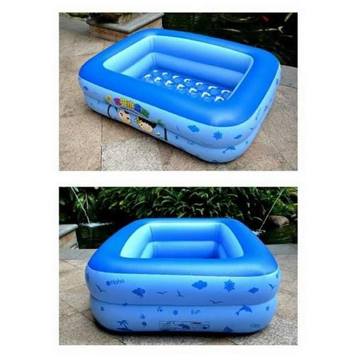 Hồ bơi 2 tầng 120cm - bể bơi hình chữ nhật bơm phao cho bé - 19184064 , 19970701 , 15_19970701 , 160000 , Ho-boi-2-tang-120cm-be-boi-hinh-chu-nhat-bom-phao-cho-be-15_19970701 , sendo.vn , Hồ bơi 2 tầng 120cm - bể bơi hình chữ nhật bơm phao cho bé