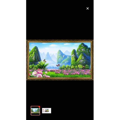 Tranh dán tường phong cảnh 110x90 cm