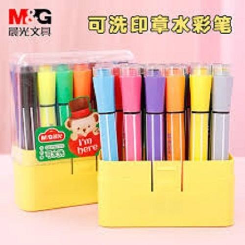 Hộp bút màu 18 cây kèm con dấu cho bé - 12219273 , 19961423 , 15_19961423 , 400000 , Hop-but-mau-18-cay-kem-con-dau-cho-be-15_19961423 , sendo.vn , Hộp bút màu 18 cây kèm con dấu cho bé