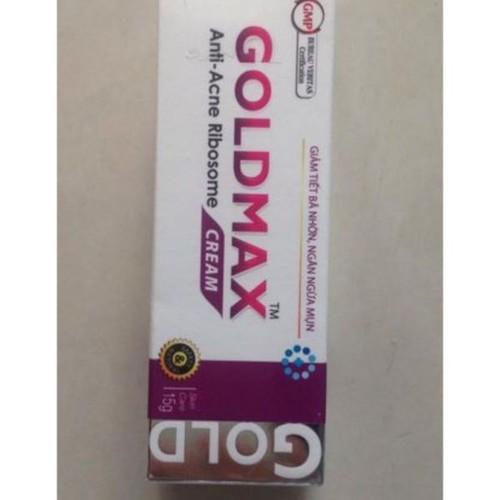 Ngăn ngừa và làm giảm mụn giúp da trắng tự nhiên  GOLDMAX CREAM 15G - 11350053 , 19952577 , 15_19952577 , 78000 , Ngan-ngua-va-lam-giam-mun-giup-da-trang-tu-nhien-GOLDMAX-CREAM-15G-15_19952577 , sendo.vn , Ngăn ngừa và làm giảm mụn giúp da trắng tự nhiên  GOLDMAX CREAM 15G