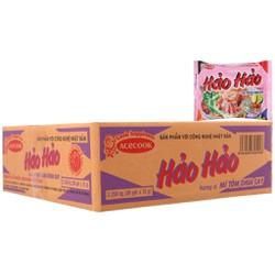 Mì ăn liền Hảo Hảo chua cay thùng 30 gói